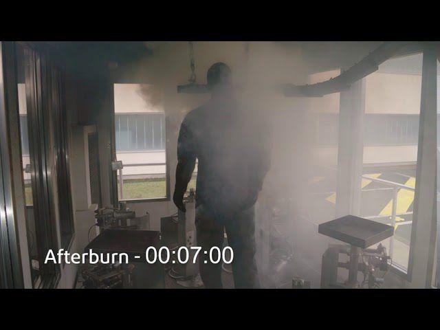 必赢网站™ Thermo-Man® 测试:棉质阻燃防护服