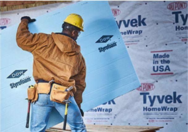 特卫强®用于建筑围护结构——特卫强®HomeWrap®