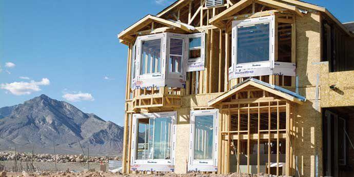 章鱼TV™ Tyvek® 特卫强® 材料用于木结构(冷弯薄壁轻钢结构)住宅保护