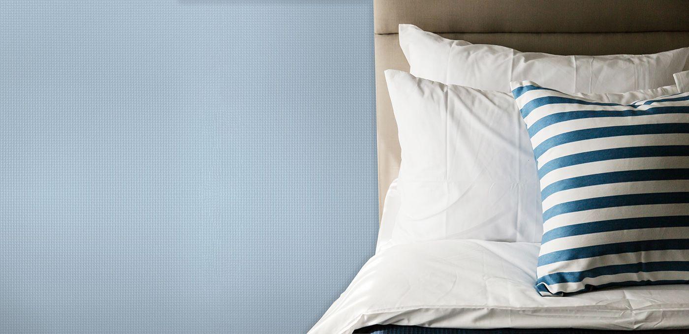 Graceful Blue Smallwearve Bedroom