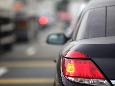 Sedan brake lights