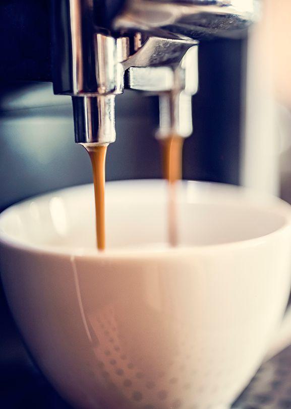 使用电子封装材料的咖啡机/速溶咖啡机。