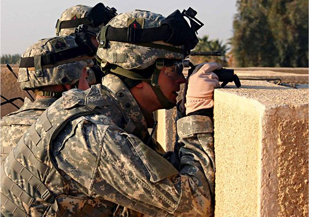 Products made from Kevlar® and Nomex® fiber are used in military armor.