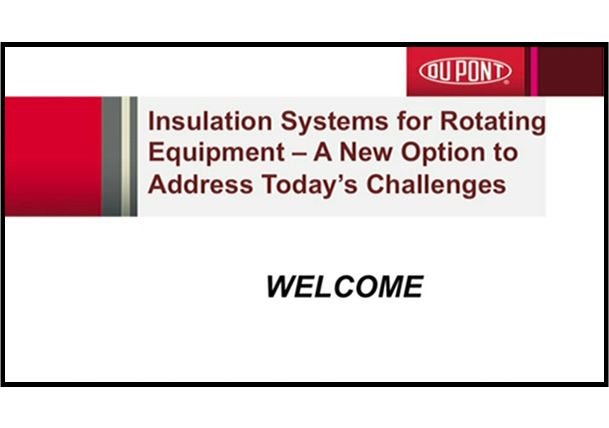 Insulation Systems for Rotating Equipment – A New Option for Today's Challenges