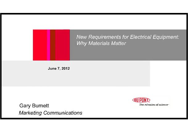 New Requirements for Electrical Equipment: Why Materials Matter