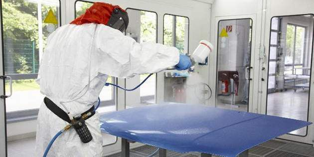 Learn why proper safety measures such as wearing garments made of Tyvek® or Tych