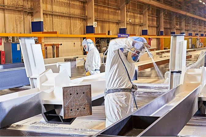 Tyvek® protects workers at UK steelworks company Severfield