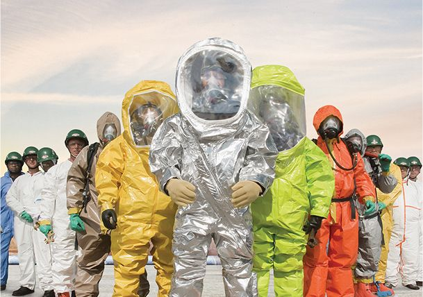 Tyvek® Protective Apparel by DuPont helps safeguard workers in many industries