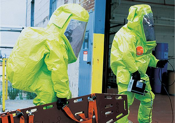 DuPont™ Tychem® garments helps protect industrial and public sector workers