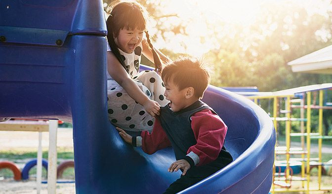 DuPont™ Tyvek® is 100% recyclable, finding a second life in products like park benches and playground equipment.