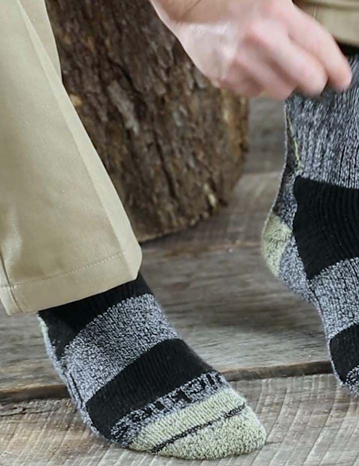 Dickies socks featuring the toughness and comfort of Kevlar®