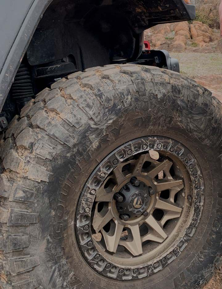 Kevlar® adding puncture resistance to FlatOut™ tire additive