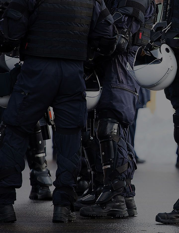 DuPont™ Nomex® Essential Ripstop 600 FR uniforms being worn by police officers