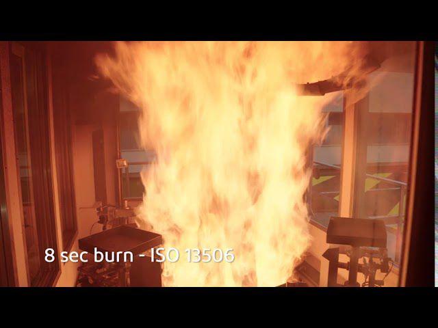 DuPont™ Thermo-Man® pone a prueba la vestimenta fabricada con Nomex® para bomberos de respuesta a emergencias