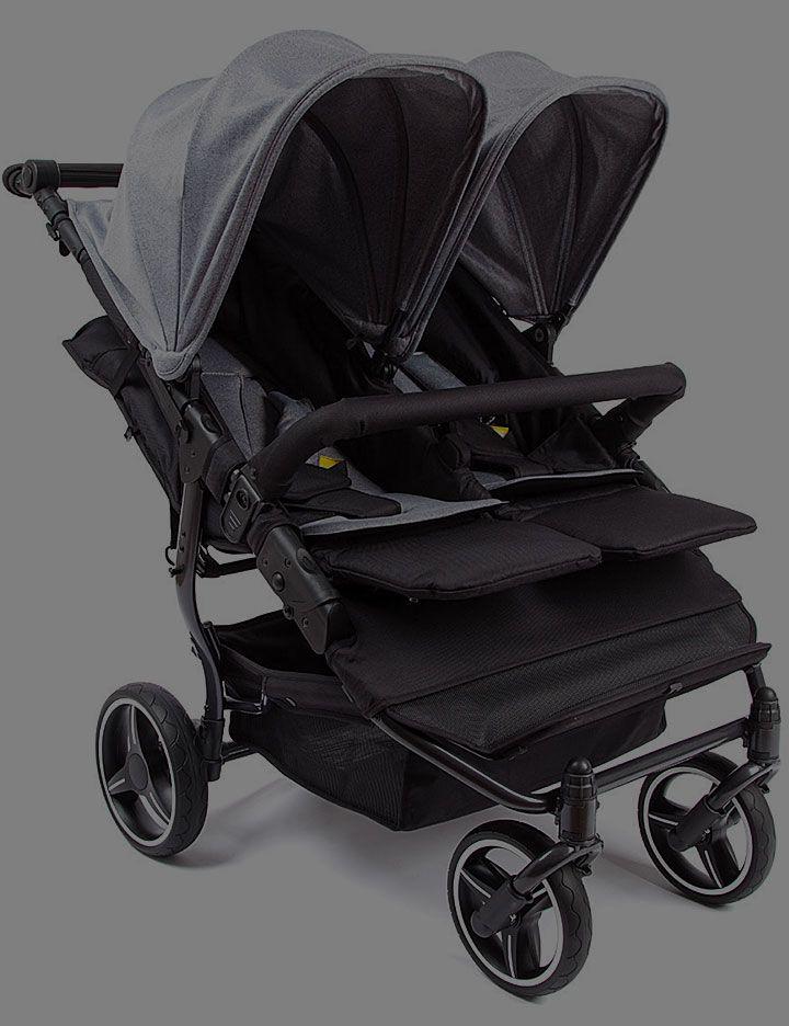 Baby stroller darkened