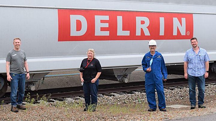 Delrin award image