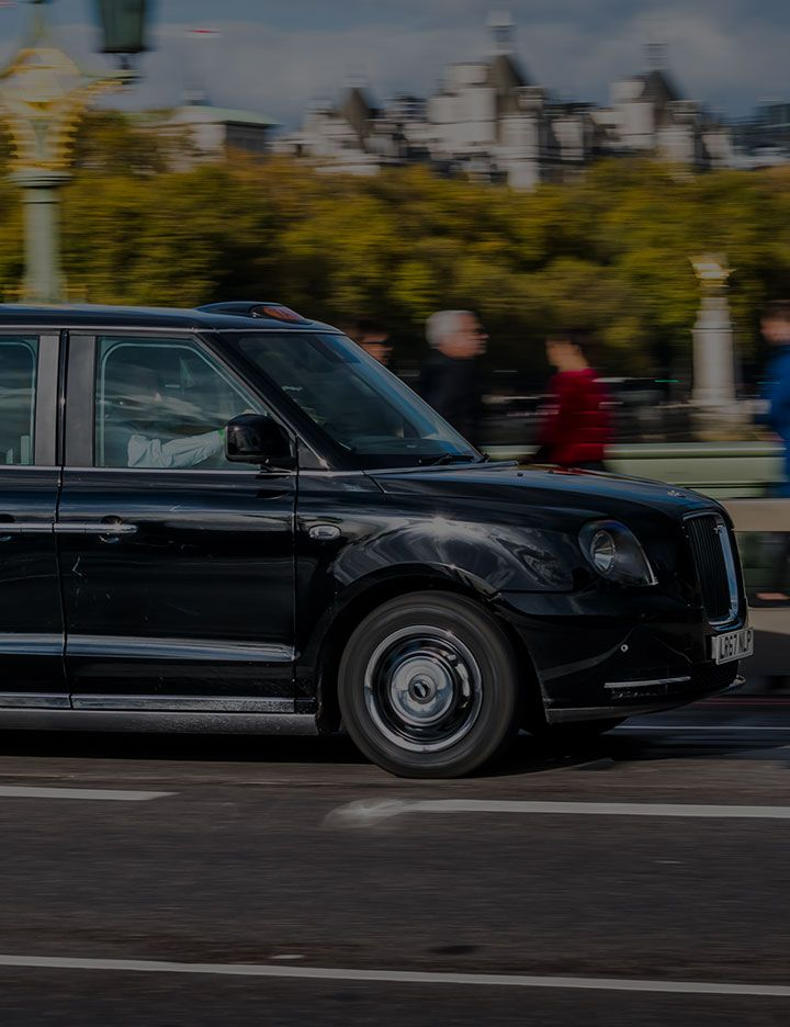 London Black Taxi Image