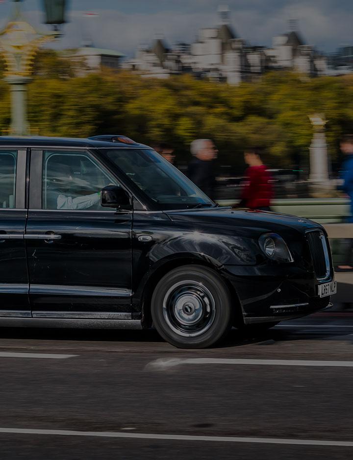 London Black Taxi Image