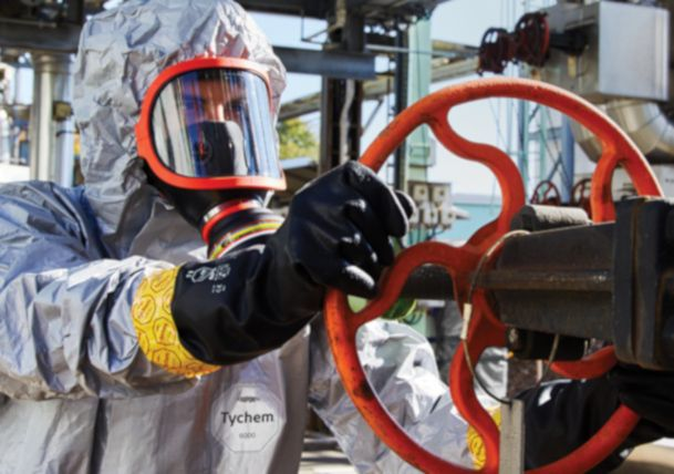 Tyvek® offers unmatched versatility & superior overall barrier protection Tychem® gloves
