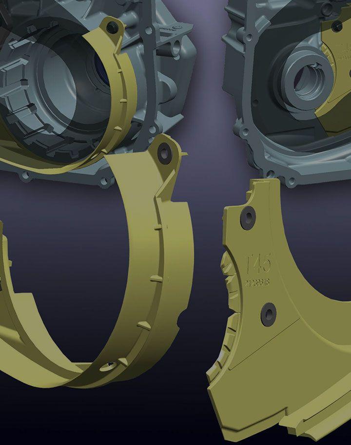 6-speed Baffle Assembly image