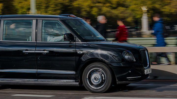 London black taxi case study card image