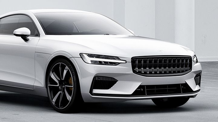 Polestar 1 electric performance hybrid vehicle featuring DuPont lightweighting solutions