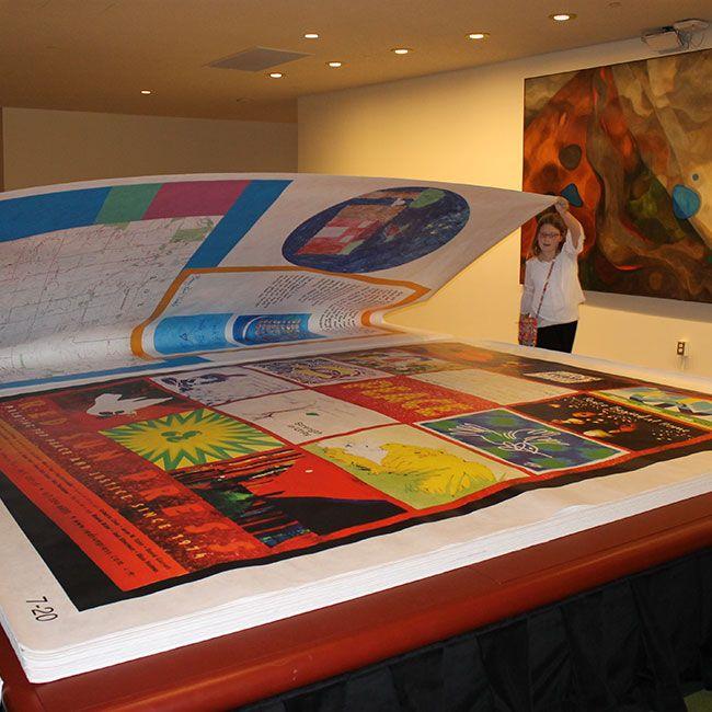 Big Book printed with Tyvek®
