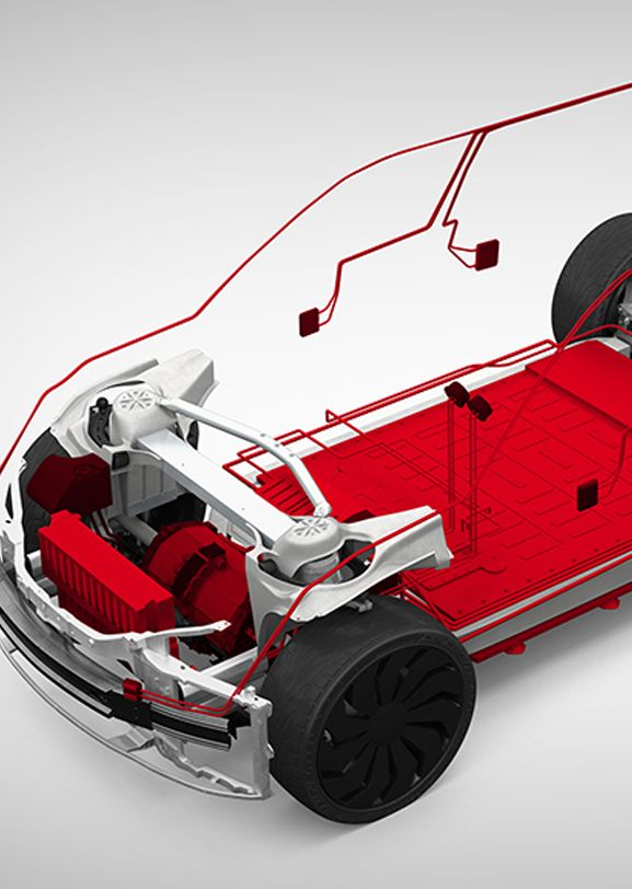 """Video screen shot DuPont AHEAD """"Hybrid and electric vehicle chassis and powertrain solutions"""""""