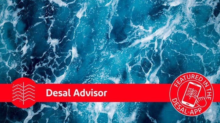 Desal advisor is a part of the Desalination App.
