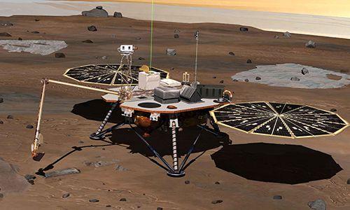 Tedlar® film used as a biobarrier in Phoenix Mars Lander, 2008