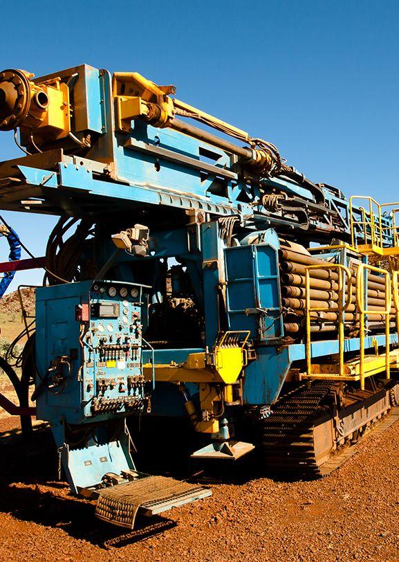 Rock-drilling machine
