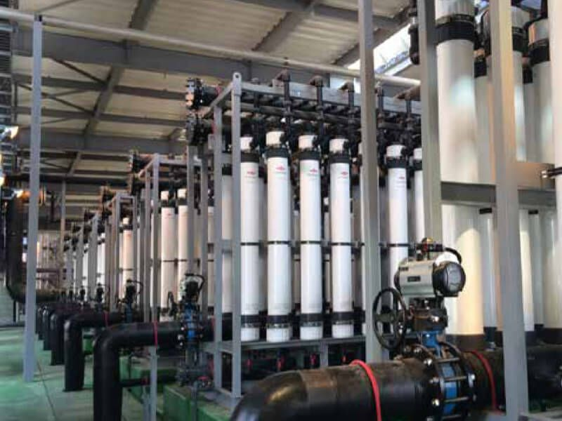 FILMTEC™ ultrafiltration and RO elements installed in South Korea's first municipal water treatment plant using desalination